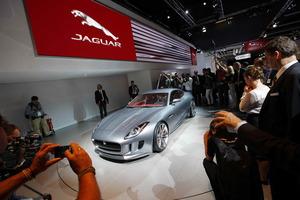 La presentación del Jaguar C-X16 en el Salón de Frankfurt levantó una gran expectación