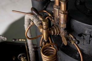 Parte de las tuberías de cobre que faltaban (utilizadas durante el periodo bélico de 1914)