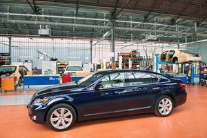 "Lexus LS 600h L en el que se basa la limusina híbrida ""real"""