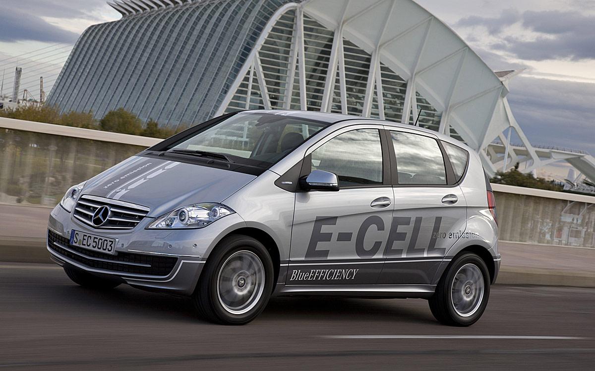 Mercedes Clase A E-Cell 1
