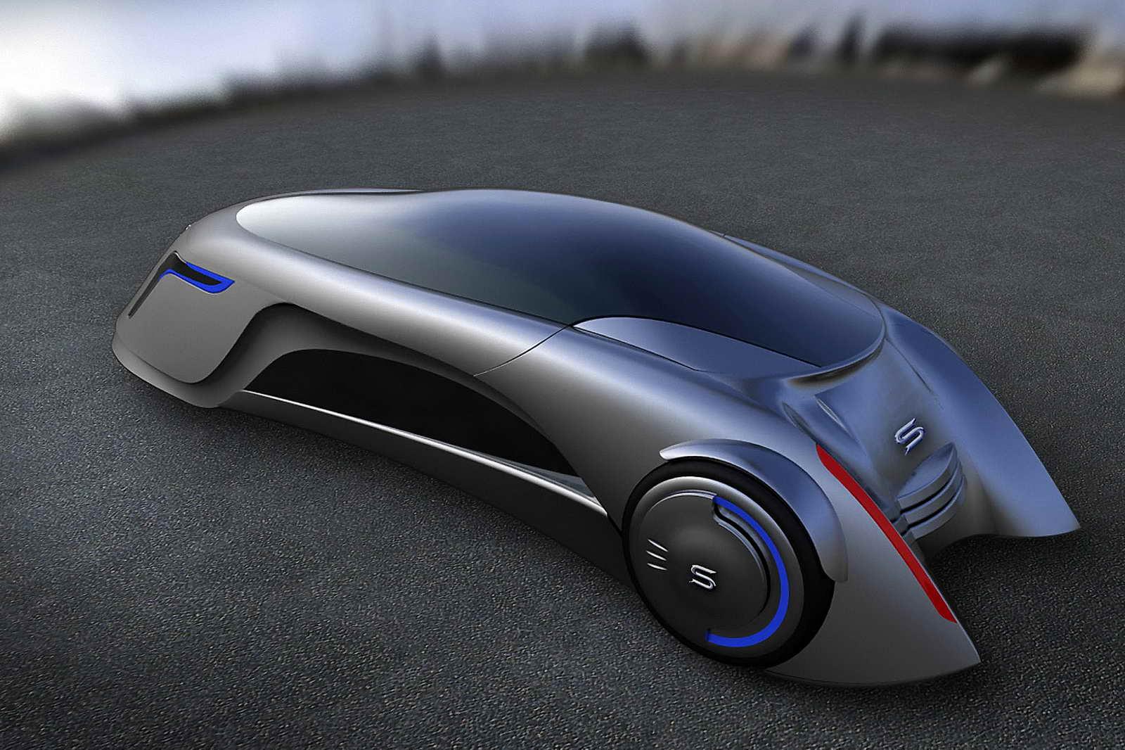 ¿Serán así los coches eléctricos del futuro?