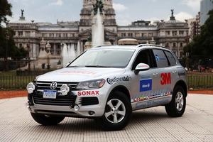 El vehículo empleado para batir el Record Guinness ha sido un Volkswagen Touareg TDI Clean Diesel