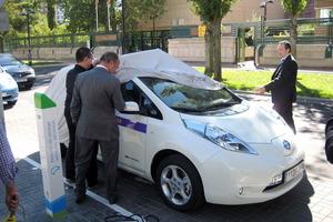 Con 80 kW de potencia puede alcanzar una velocidad máxima de 145 km/h
