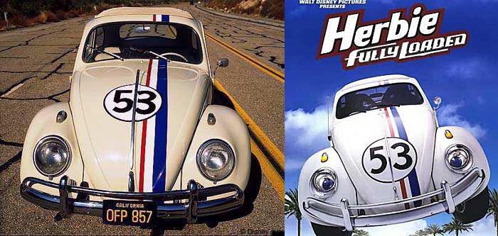 Volkswagen Escarabajo (Herbie)