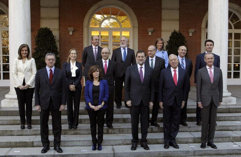 Los coches de los ministros de espa a for Ministros de espana