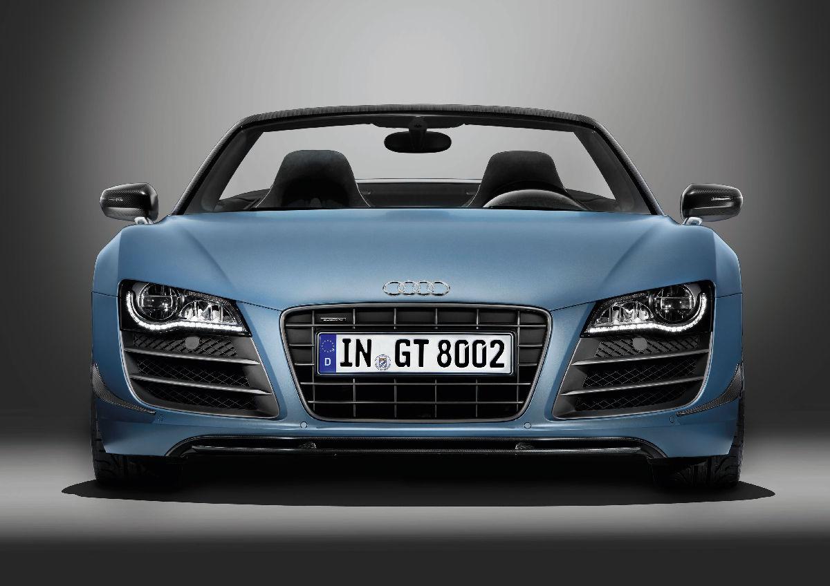 Audi R8 GT Spyder 9