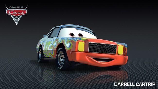 Los Coches De Los Personajes De Cars 2