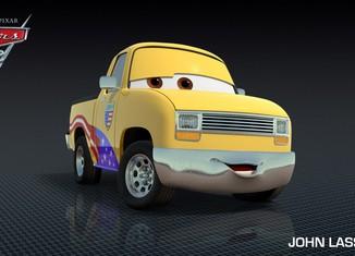 Los coches de los personajes de Cars 2 John-Lassetire-Cars-2-Characters-1024x576-650x365