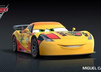 Los coches de los personajes de Cars 2 Miguel-Camino-Cars-2-Characters-1024x576-650x365