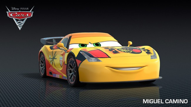 Cars 2 Cartoon Characters Names : Los coches de personajes cars