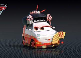 Los coches de los personajes de Cars 2 Okuni-Cars-2-Characters-1024x576-650x365