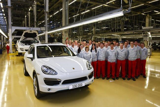 Porsche Cayenne 100.000