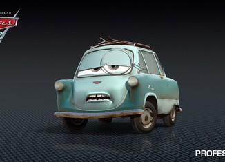 Los coches de los personajes de Cars 2 Professor-Z-Cars-2-Characters-1024x576-650x365