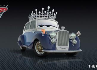 Los coches de los personajes de Cars 2 The-Queen-Cars-2-Characters-1024x576-650x365