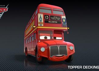 Los coches de los personajes de Cars 2 Topper-Deckington-III-Cars-2-Characters-1024x576-650x365