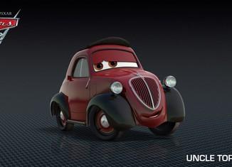 Los coches de los personajes de Cars 2 Uncle-Topolino-Cars-2-Characters-1024x576-650x365