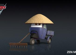 Los coches de los personajes de Cars 2 Zen-Master-Cars-2-Characters-1024x576-650x365