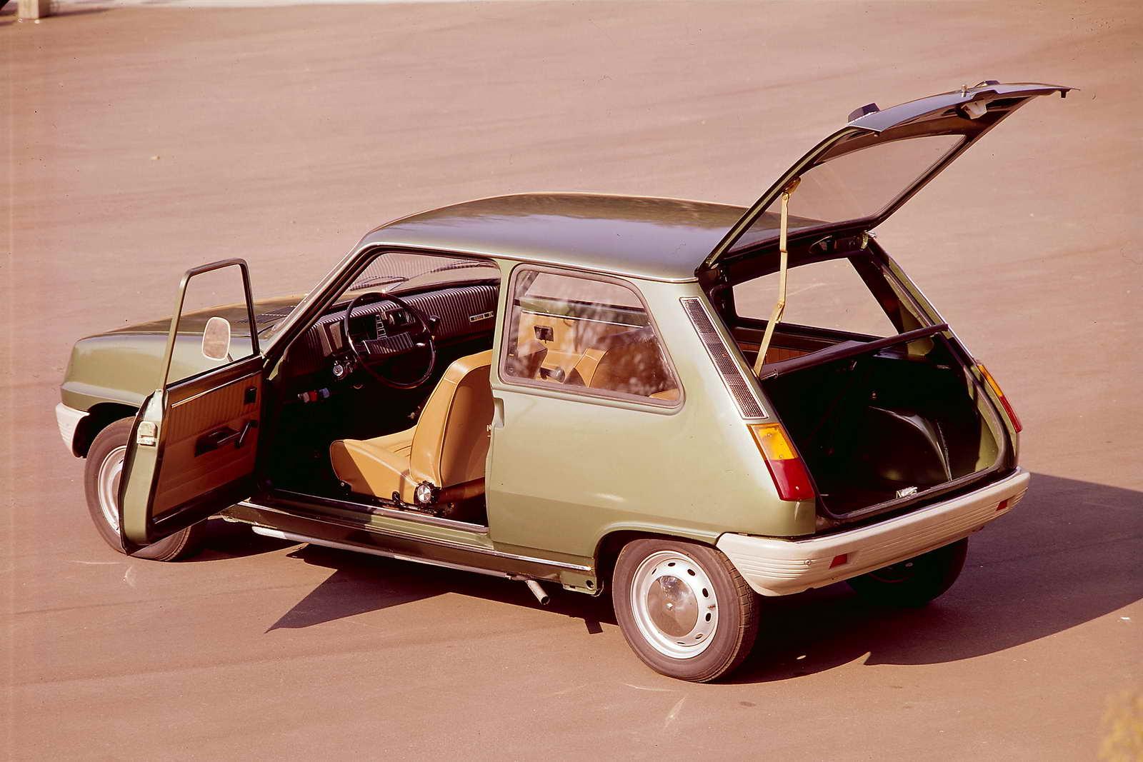 Modelo de 1972 con tres puertas