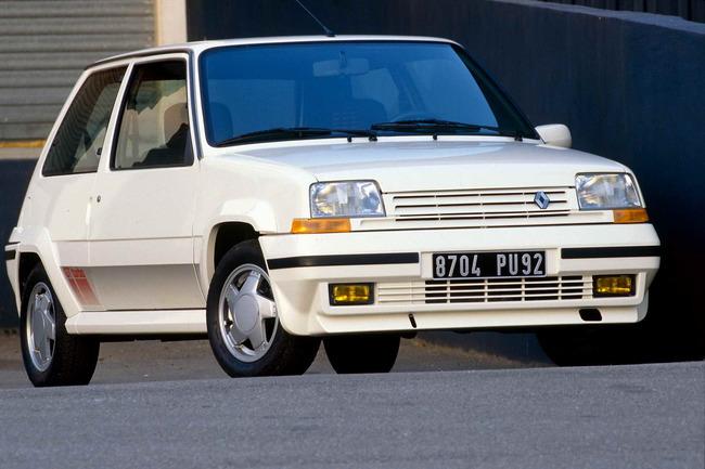 En 1982 apareció la versión más deseada por la juventud de la época: el Renault 5 Copa Turbo