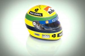 El casco de Ayrton Senna subastado por Silverstone Auctions