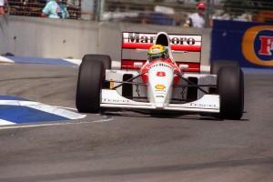 A subasta el equipamiento utilizado durante la temporada 1993 (la última que estuvo en el equipo McLaren)