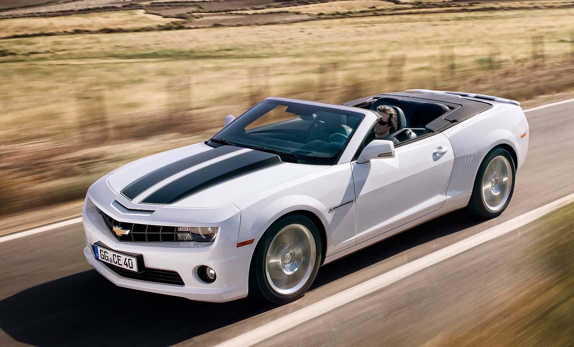Chevrolet Camaro Cabrio Un Icono Usa Al Aire Libre