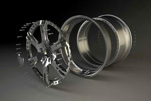 """Espectaculares llantas """"6Sporz ² ultralight-forged"""" las montadas en esta preparación"""
