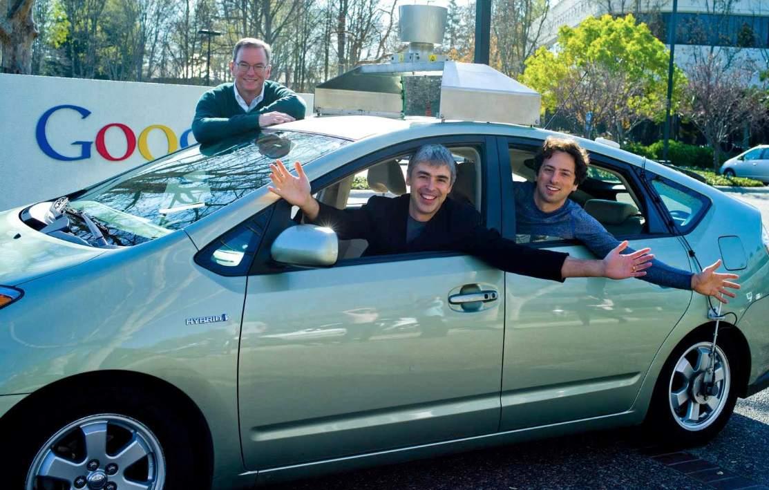 Toyota Prius Google Larry Page