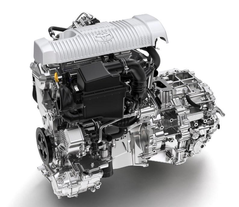 Motor Toyota Yaris Hsd