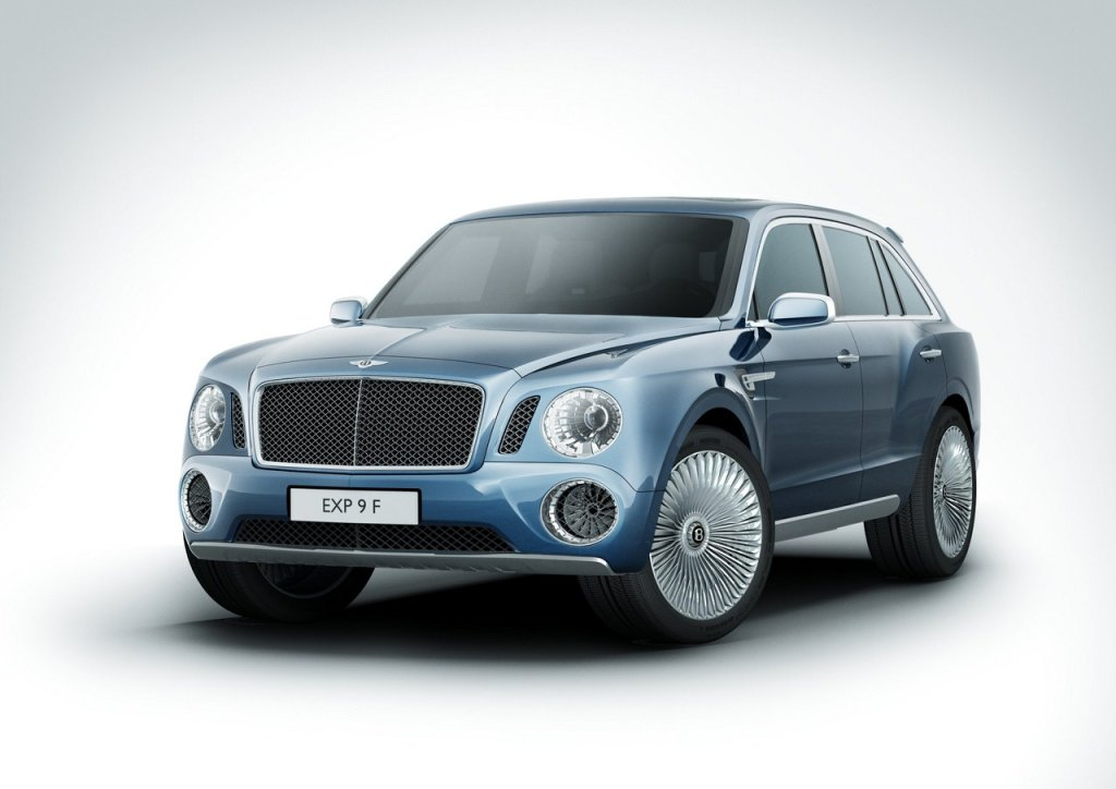 Bentley EXP 9F 7
