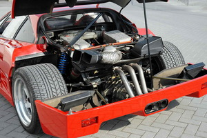 El magnífico propulsor V8 que entregaba 478 CV a 7.000 rpm