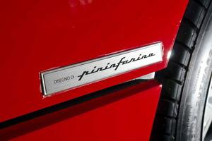 """La singular carrocería era obra del """"mago"""" Pininfarina"""