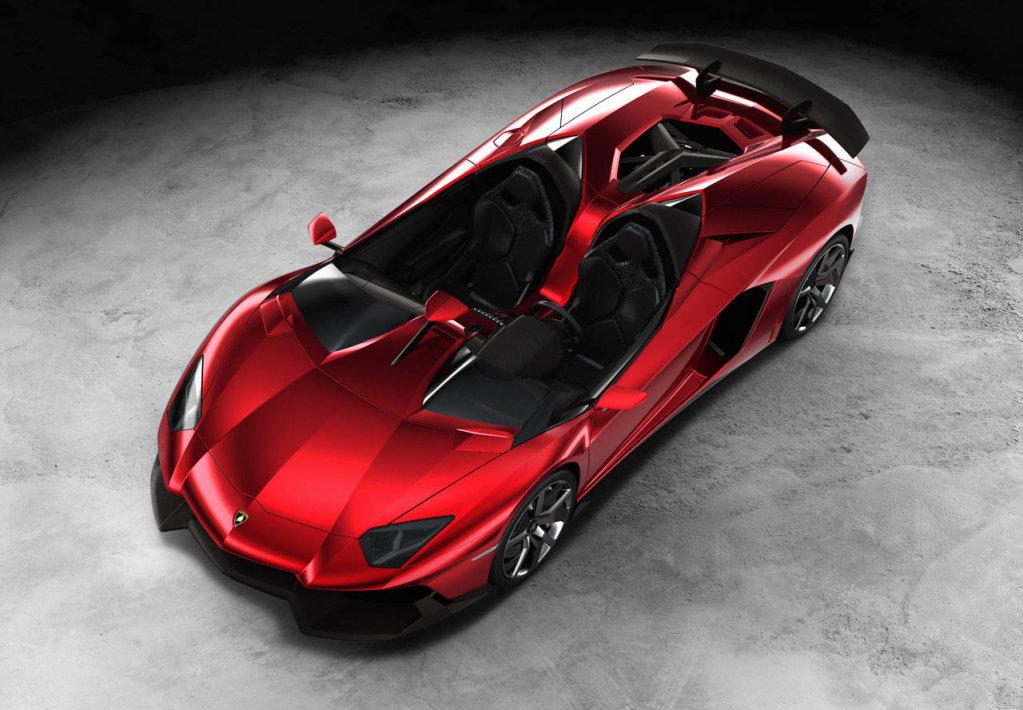 Lamborghini Aventador J 8