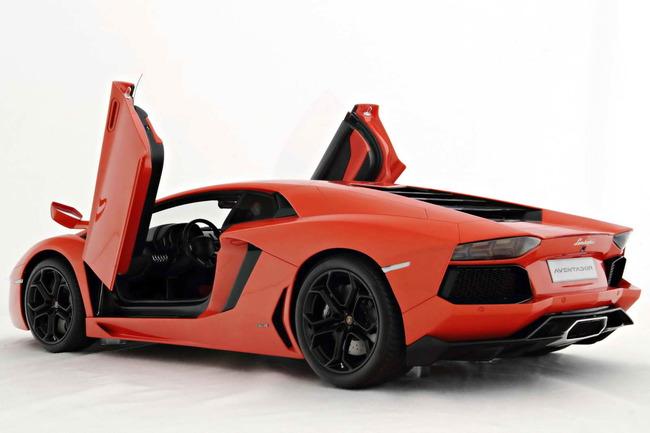 Espectacular la presencia del Lamborghini Aventador. ¡¡Y sólo por sólo 4.794 €!!