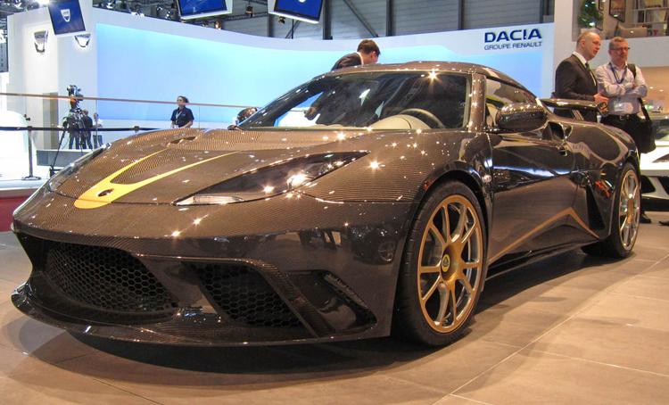 Lotus Evora GTE F1 1