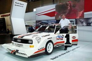 Walter Röhrl intentará batir en julio su propio record en la Pikes Peak, con el Audi Sport quattro S1