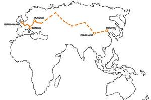 """Recorrido de la expedición """"The Journey of Discovery"""""""