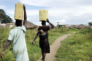 La expedición quiere recaudar 1 millón de libras para un proyecto de potabilización de agua en Uganda