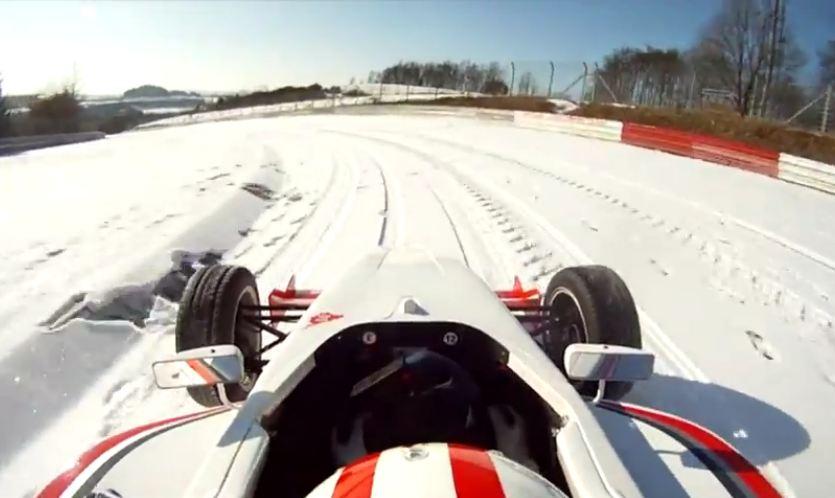 nurburgring f1 nieve