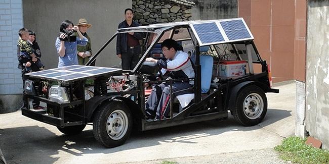 Un coche el ctrico solar por tan solo euros for Mitsuba motor solar car