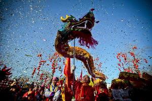 2012 es el Año del Dragón en el calendario chino