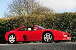 El primer modelo exportado a China fue un Ferrari 348 TS