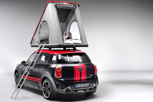"La tienda de techo ""Swindon"" se adapta perfectamente al MINI Countryman ALL4"