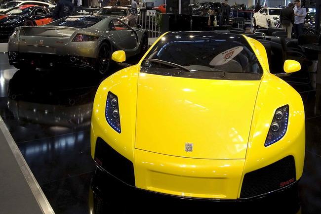 El GTA Spano ha sido una de las estrellas del salón