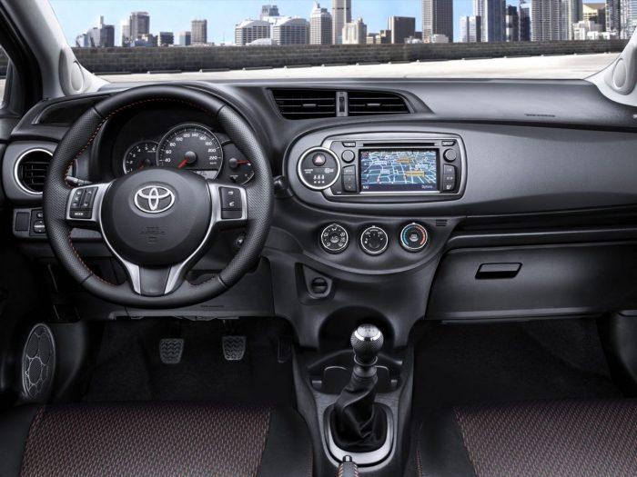 Toyota Yaris 2012- Salpicadero