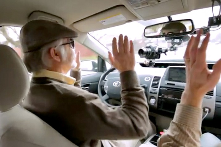 Resultado de imagen de conductor ciego al volante