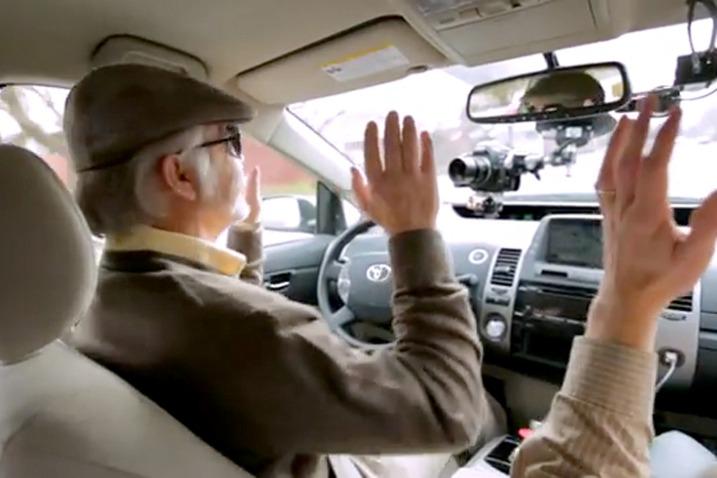 coche google ciego