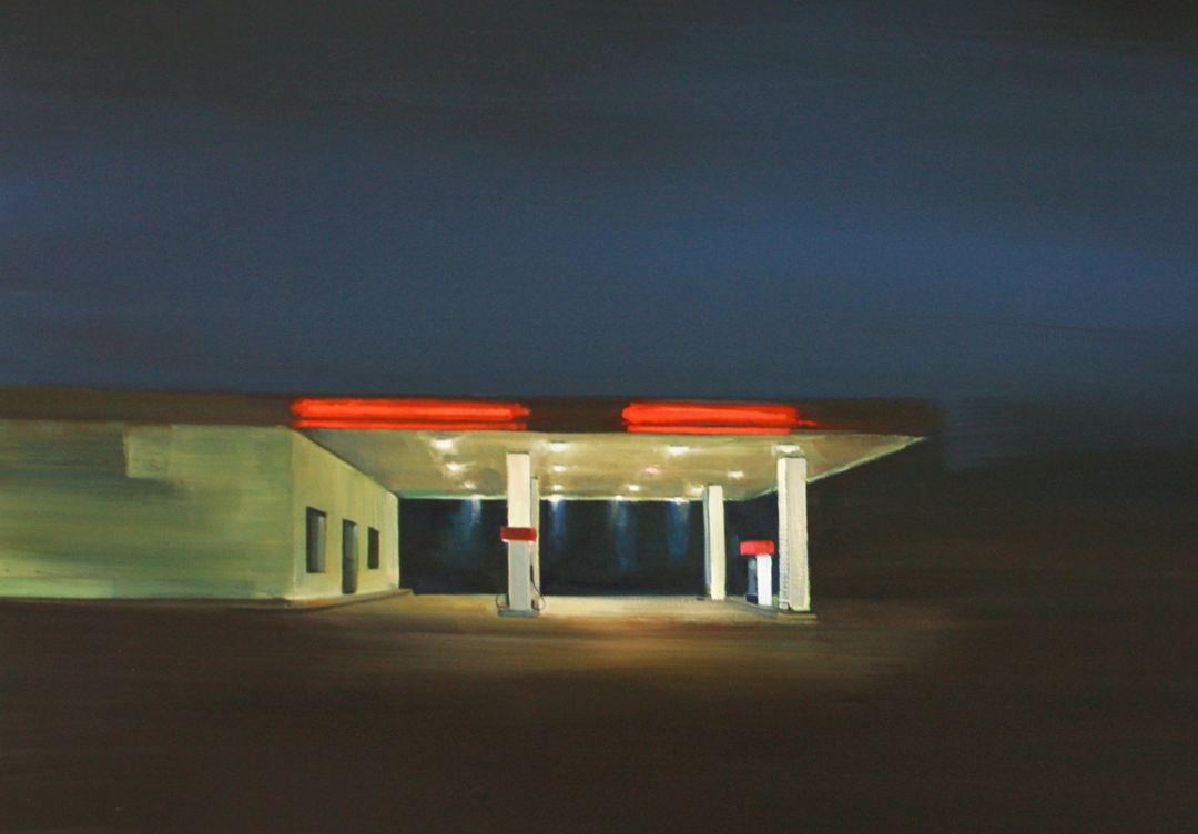 cuadro gasolinera