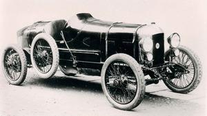 Una de sus primeras creaciones fue el Fiat 501 Sport de 1923