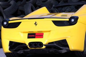 """Impresionante la """"trasera"""" de este Ferrari 458 Spider"""
